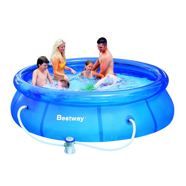 Bazén BESTWAY Fast 305 x 76 cm set s filtrací, doprava zdarma