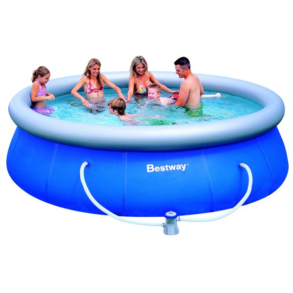 Bazén BESTWAY Fast 366 x 91 cm set s filtrací