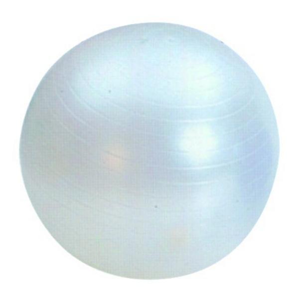 Gymnastický míč průměr 65 cm - stříbrný