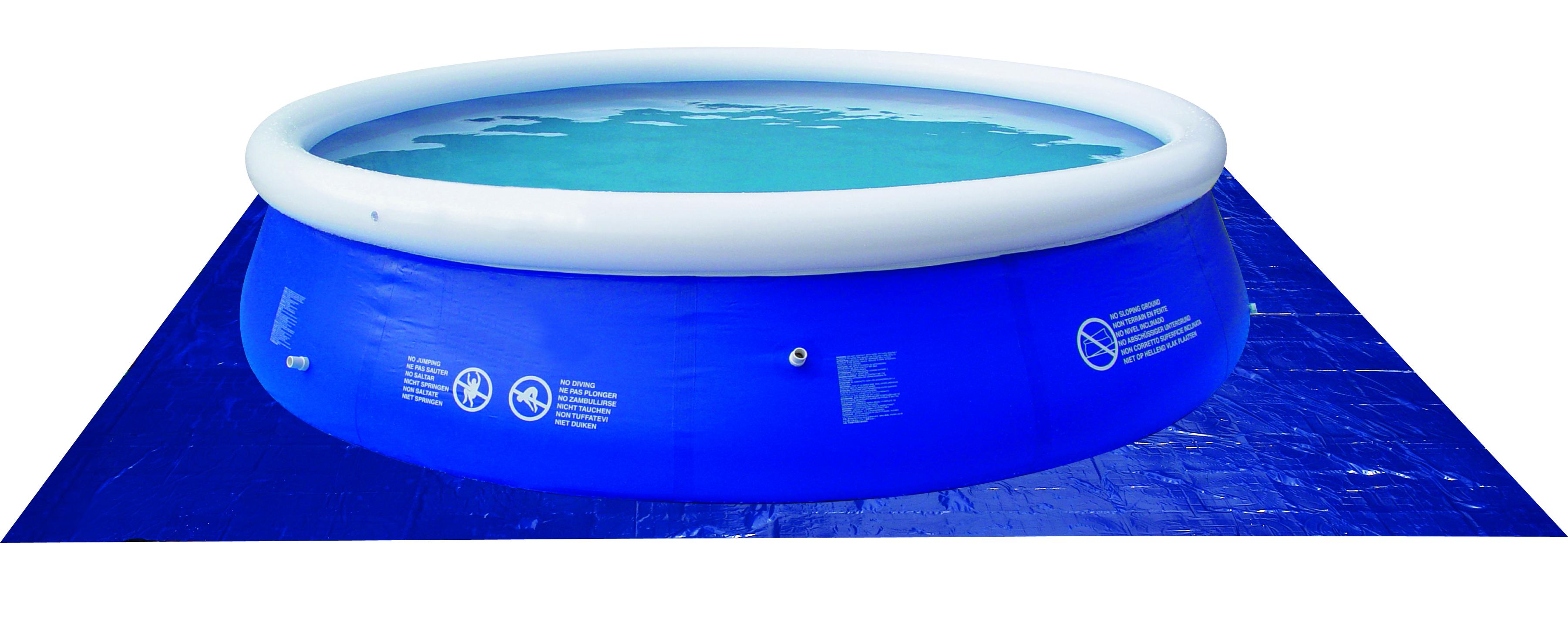 Plachta pod bazén 330 x 330 cm