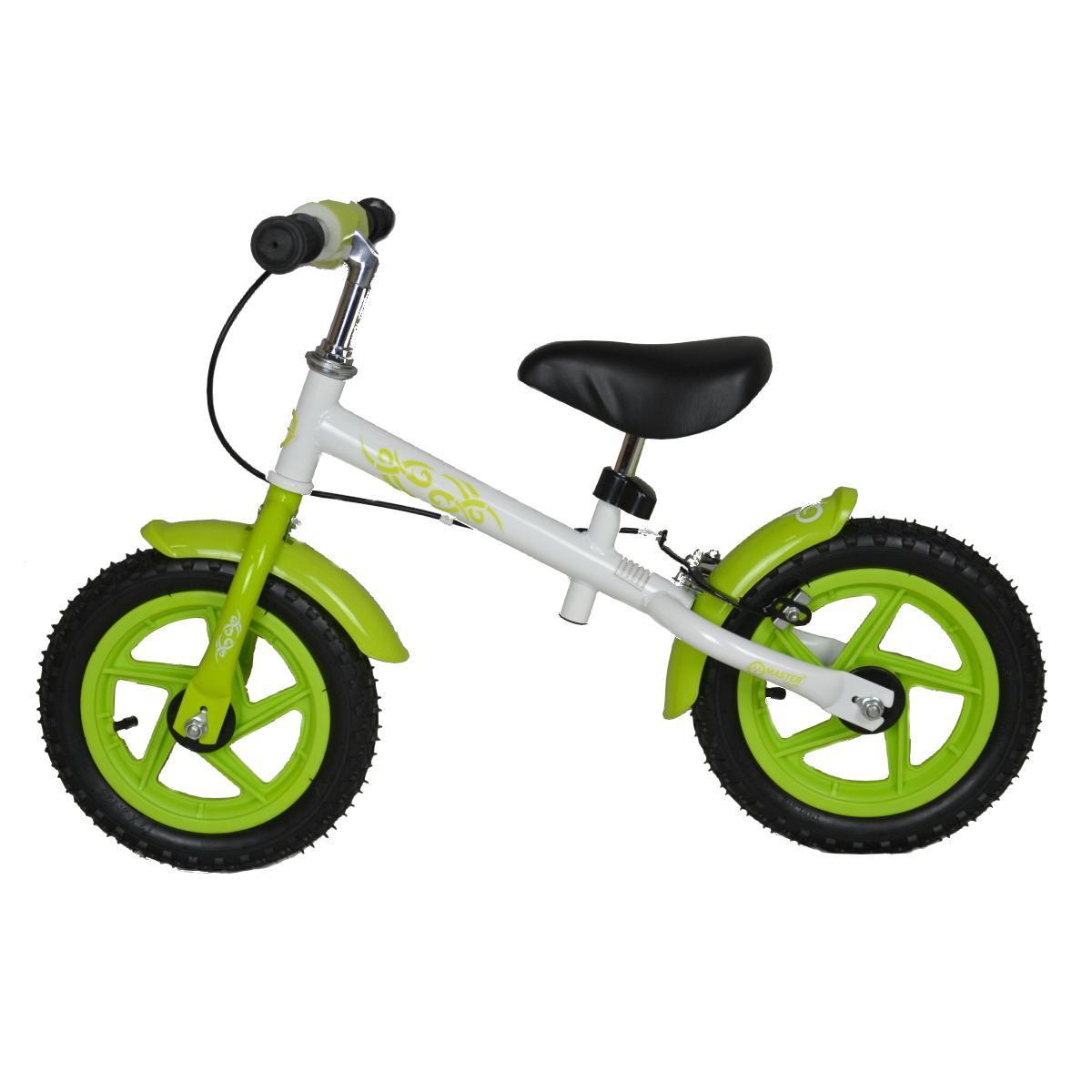 Dětské odrážedlo - kolo MASTER Plug - zelené