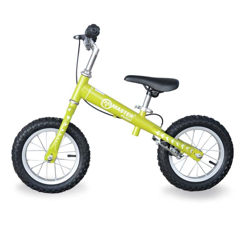 Dětské odrážedlo - kolo MASTER Push - zelené