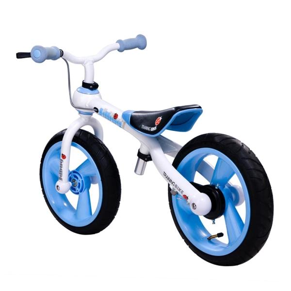 Odrážedlo JD BUG Training Bike nafukovací kola modré, doprava zdarma