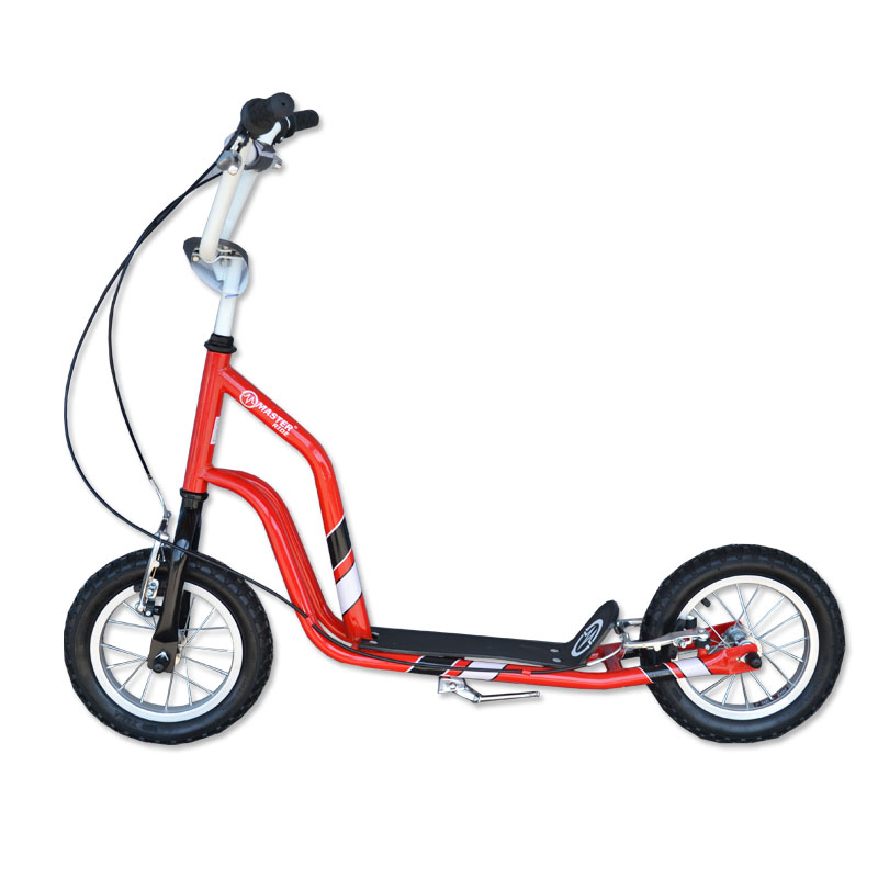 Koloběžka MASTER Ride - červená, doprava zdarma