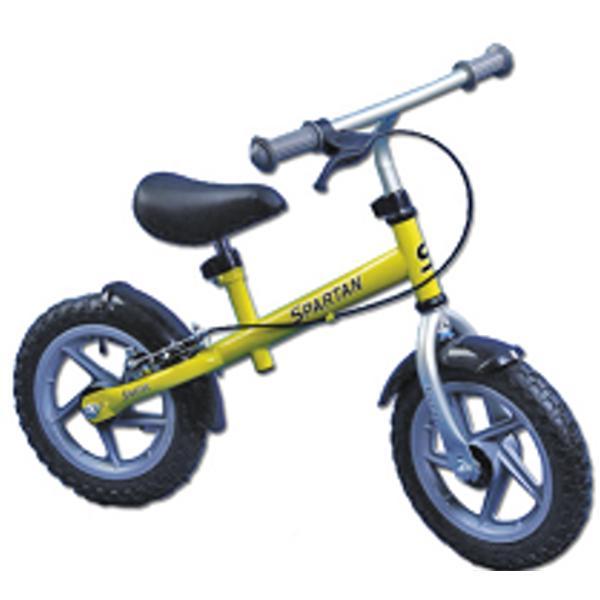 Dětské odrážedlo - kolo SPARTAN Training Bike-červ