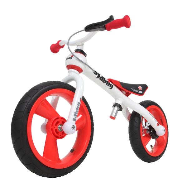 Odrážedlo JD BUG Training Bike nafukovací kola čer