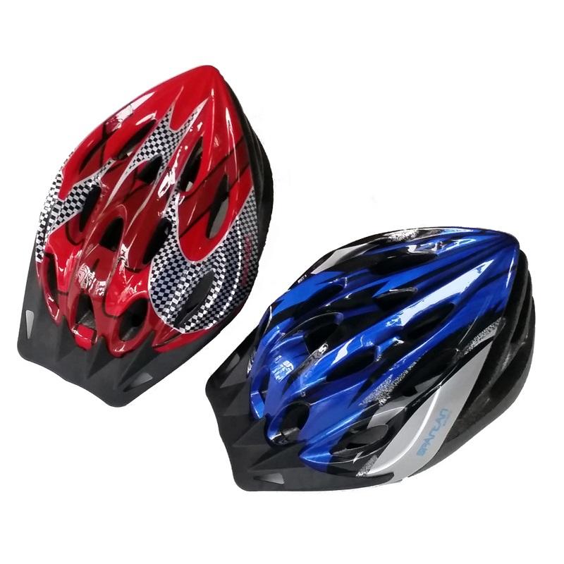 Cyklo přilba SPARTAN Tour - S červená